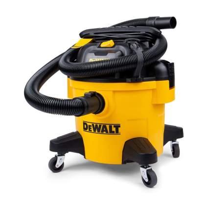 Yellow DeWalt wet vac