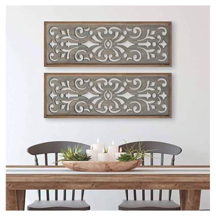 wood decorative wall panel