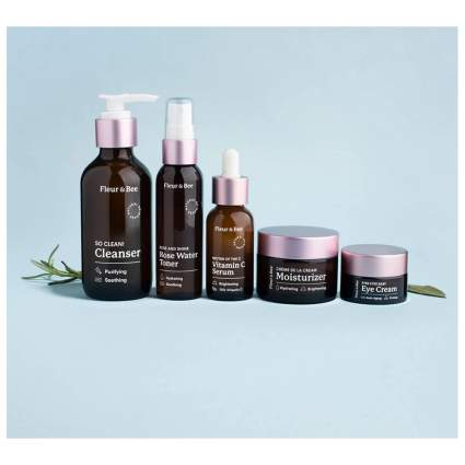 five piece skin care set