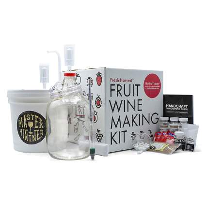 fruit wine making kit