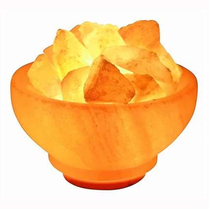 Himalayan Salt Bowl Lamp