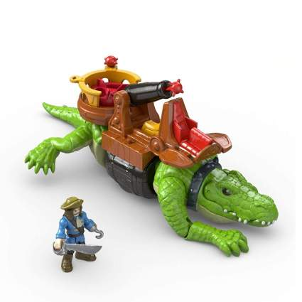 Imaginext Walking Croc & Pirate Hook