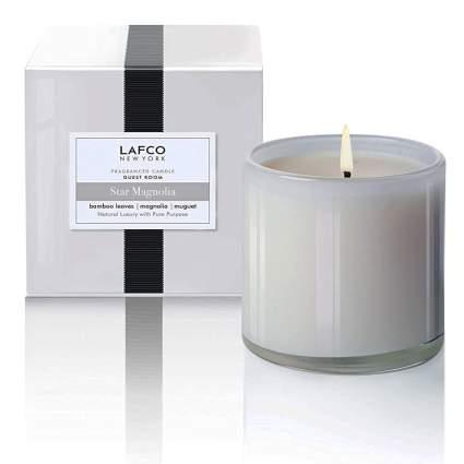 magnolia scented candle