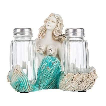 mermaid salt and pepper shaker