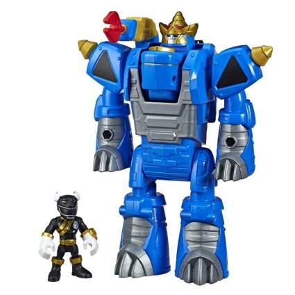 Playskool Heroes Black Ranger and Rhino Zord