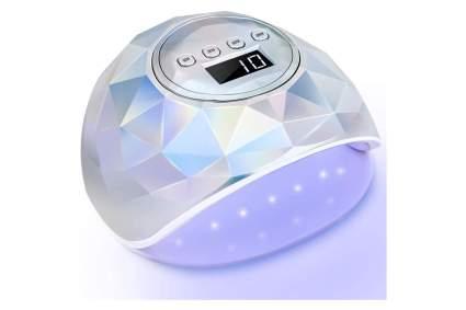 Holographic LED nail lamp