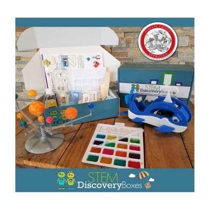 monthly STEM subscription box