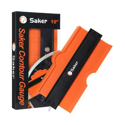 Orange contour gauge
