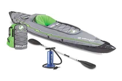 inflatable single sit in kayak