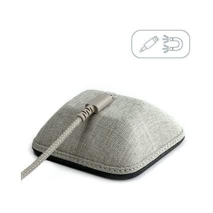 Grey cord wrangler