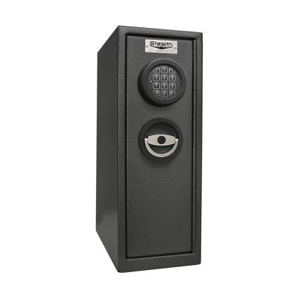 Black narrow safe