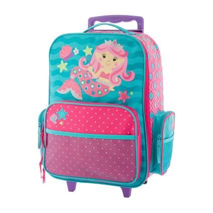 Mermaid rolling luggage