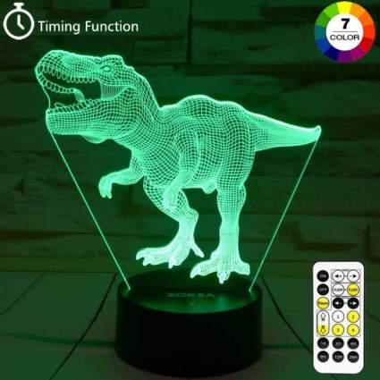 T Rex 3D Night Light