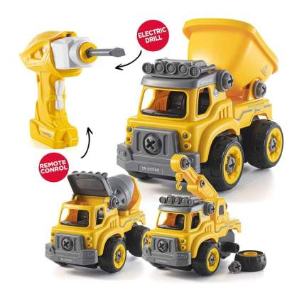 Take Apart Toys with Electric Drill