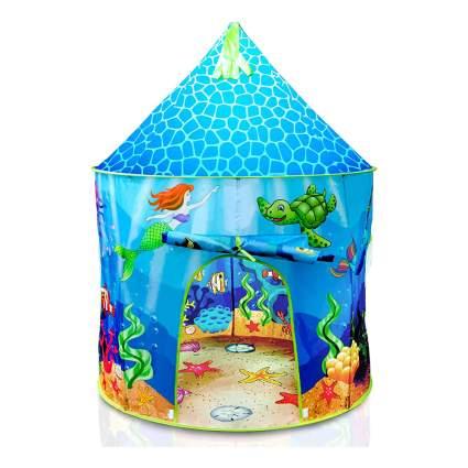 Mermaid kid's play tent