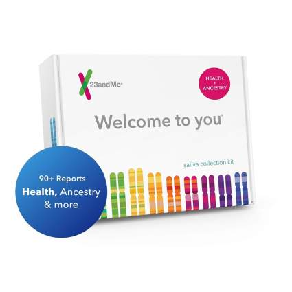 23andMe dna kit box
