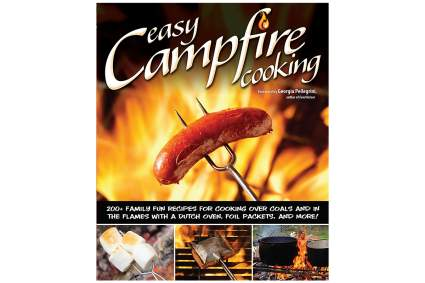 Recipe book for camping