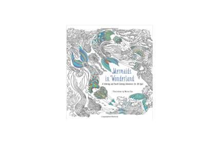 Mermaid puzzle book