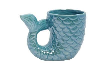 mermaid tail coffee cup