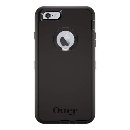 Black otterbox phone case