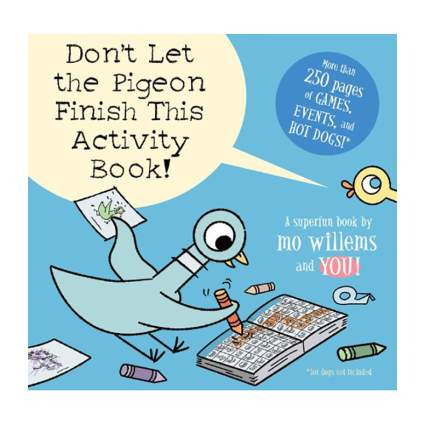 Pigeon actitity book for kids