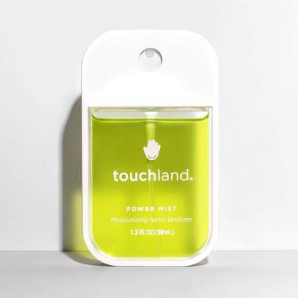 Green Touchland hand sanitizer