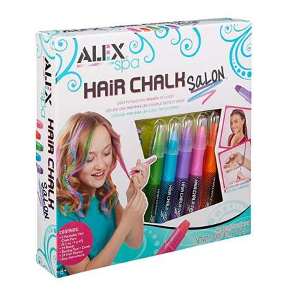 hair coloring chalk set