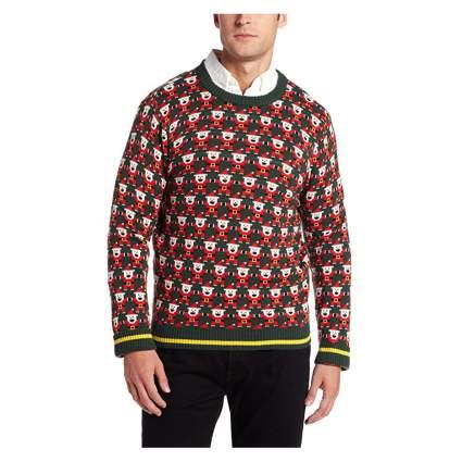 8 bit santa sweater