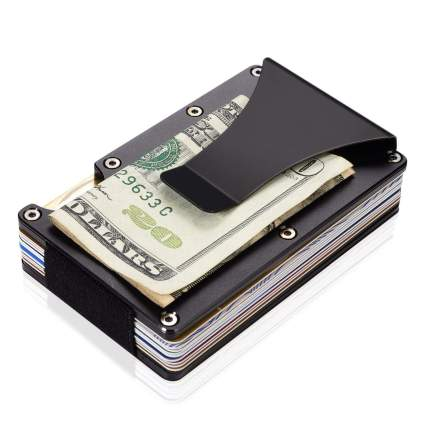 aluminum metal wallet