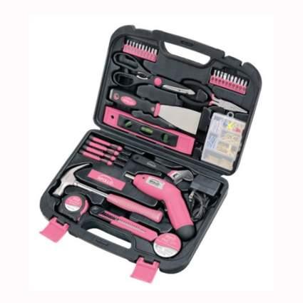 pink 135 piece tool set