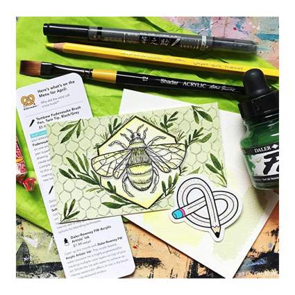 art supplies monthly subscription box