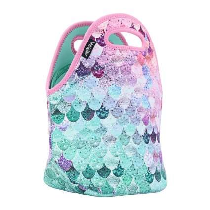 Pastel mermaid lunchbox