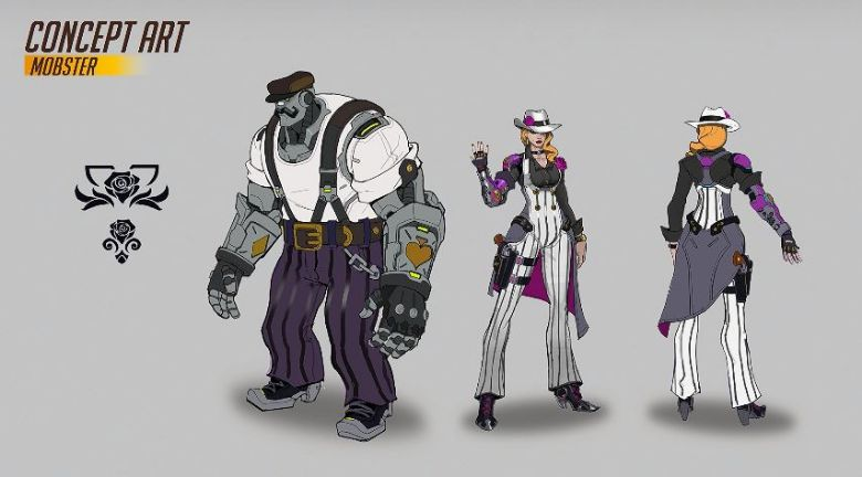 Ashe Mobster Skin