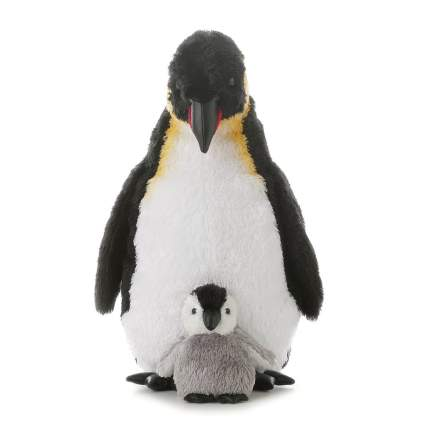 Penguin plushie with chick