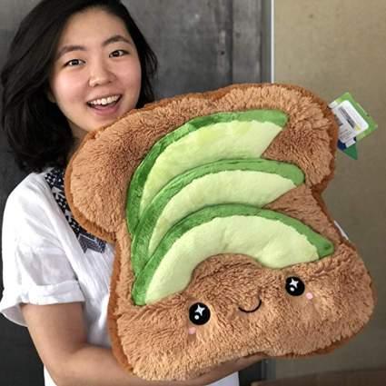 avo toast squishy