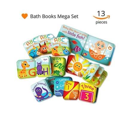 baby bath books mega set