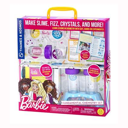 Barbie chemistry kit