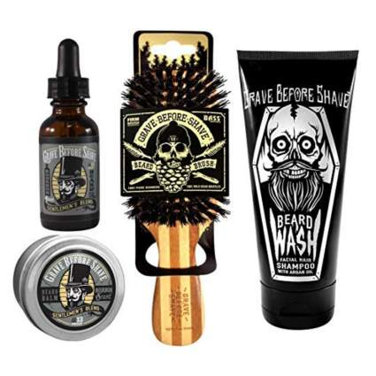 Grave Before Shave Beard Care Pack (Gentlemen's Blend)