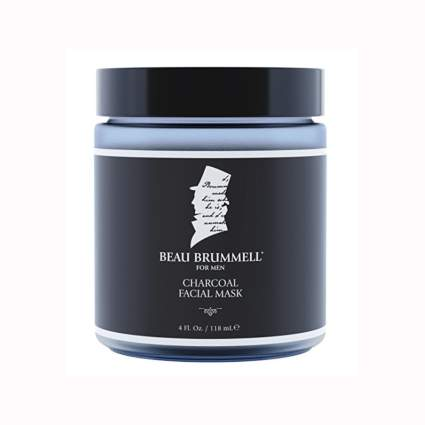 men's charcoal face mask