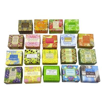 botanical soap sampler