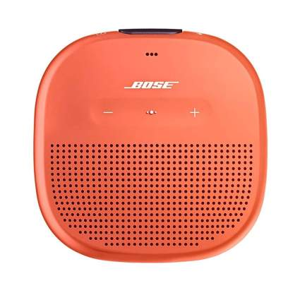 Orange Bose mini speaker