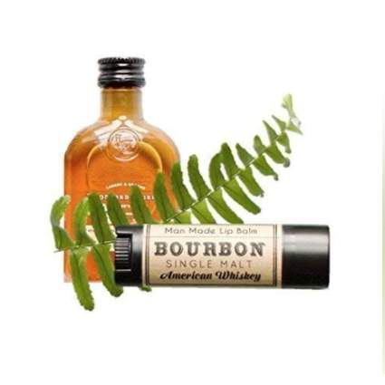 bourbon flavored lip balm