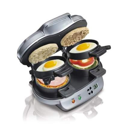 breakfast sandwich maker dual