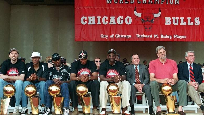 Bulls championship rally