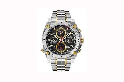men's japanese quartz chronograph watch