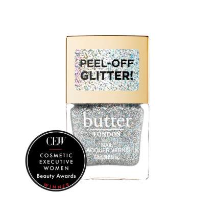 Peel off glitter nail polish