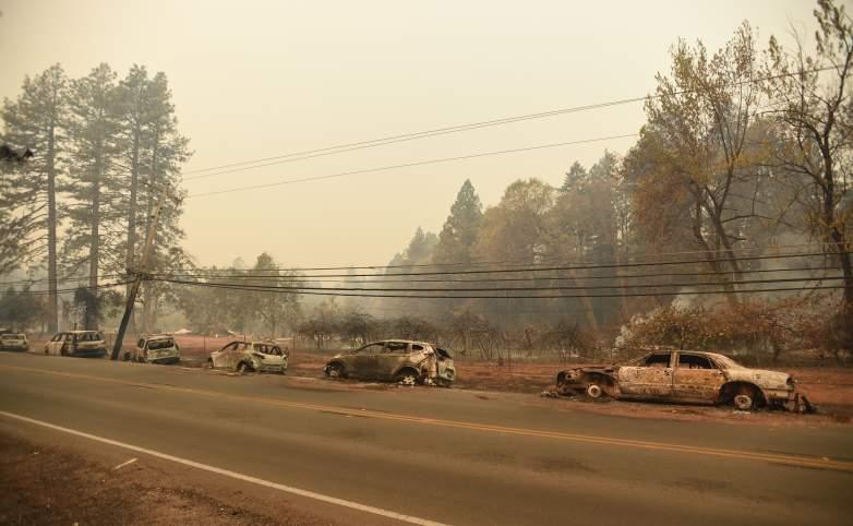 Camp Fire road closures