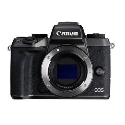 canon eos m5 mirrorless camera