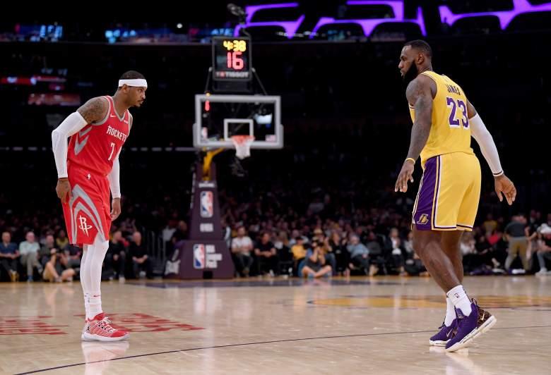 Carmelo Anthony LeBron James