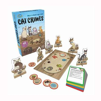 cat themed logic game